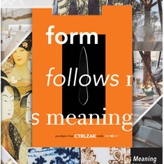 CtrlZak art design studio - Form Follows Meaning