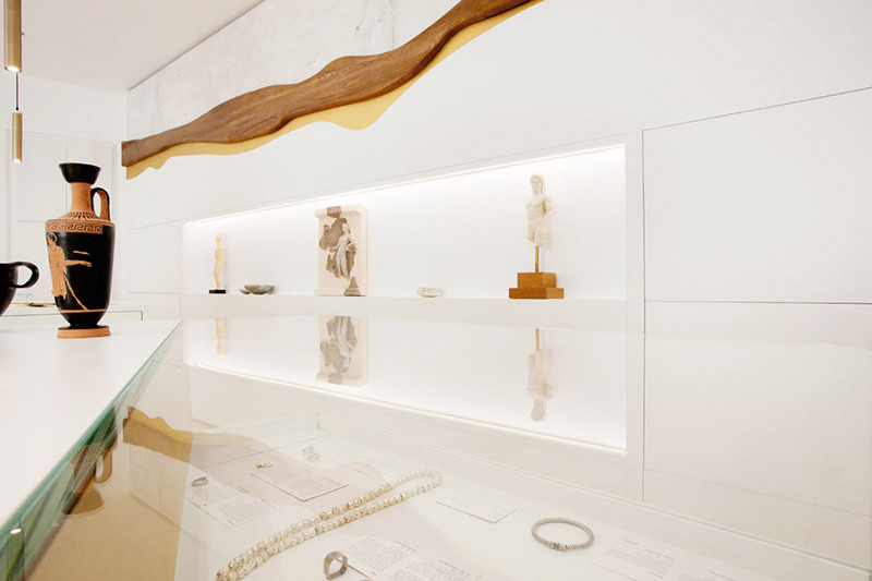 ctrlzak - iMuseum, concept store located in the island of Mykonos which brings together historical replicas from various Greek archaeological museums, by CTRLZAK