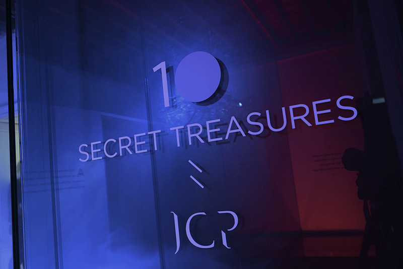ctrlzak - Ten Secret Treasures exhibition | entrance title