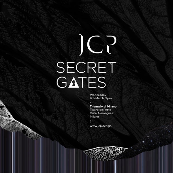 ctrlzak - JCP Secret Gates | Press Preview invitation by Susami Creative