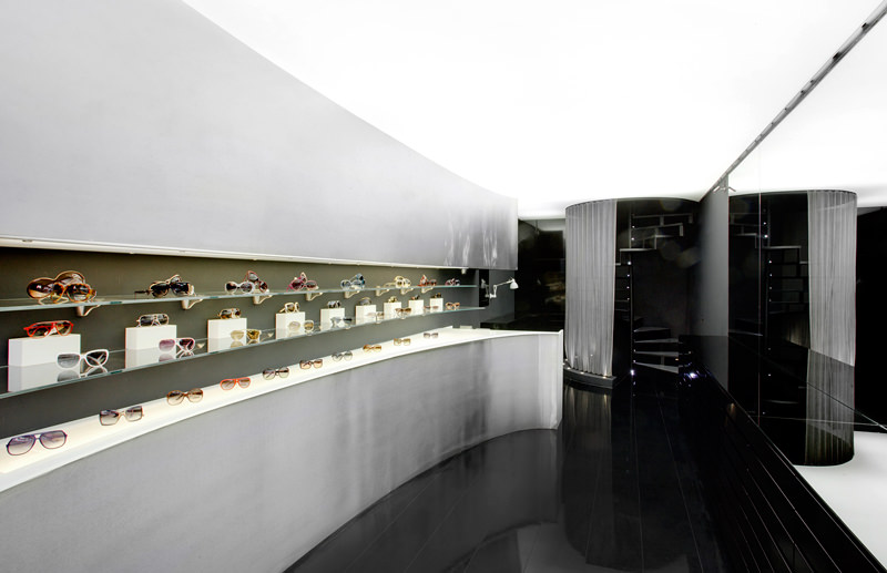 ctrlzak - Sole Nero, new approach to the concept of optic stores, designed by CTRLZAK